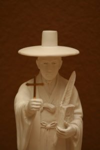 Including St. Father Andrew Kin Taegon, martyr priest of Korea (picture form reasonsforchocolate blog)