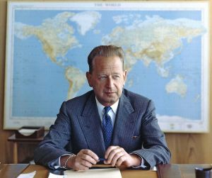 Dag Hammarskjold the Swede