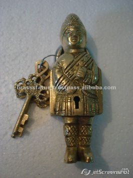 Aakrati Brasssware alibaba com brass ornate boy figure lock