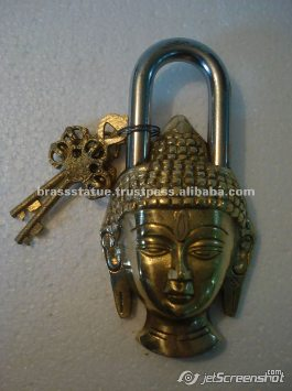 Aakrati Brasssware alibaba com brass ornate Buddha lock
