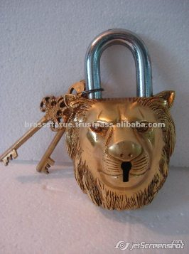 Aakrati Brasssware alibaba com brass ornate lion lock