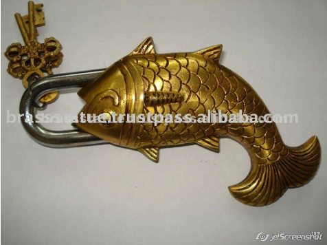 Aakrati Brasssware alibaba com brass ornate lock fish
