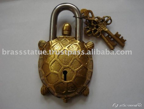 Aakrati Brasssware alibaba com brass ornate turtle lock keys decorative