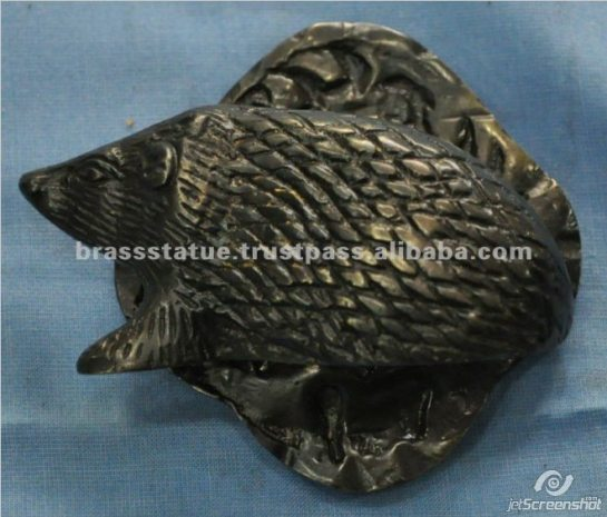 Aakrati Brasssware alibaba com side hedgehog door knocker