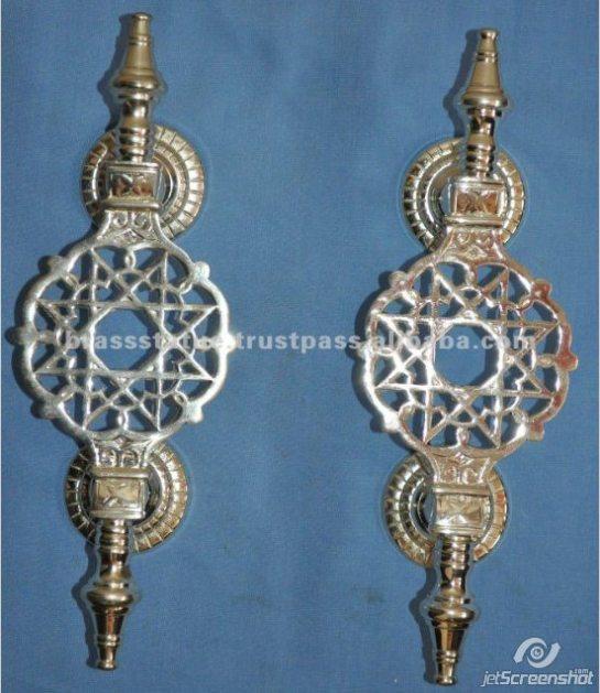 Aakrati Brasssware alibaba com silver mandala door handles
