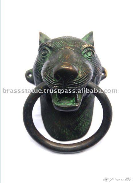 Aakrati Brassware alibaba com cool dog doorknocker