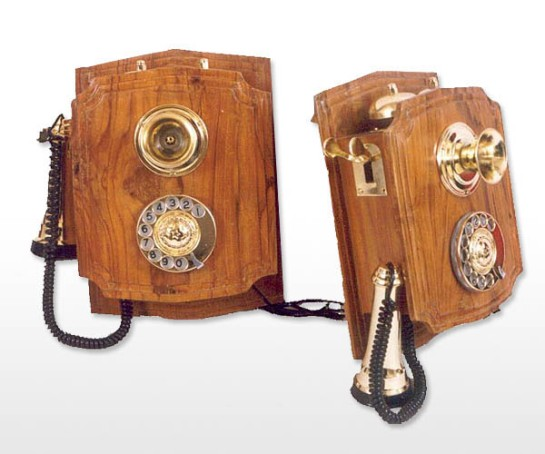 Aakratibrass com really antique wall-mount telephone