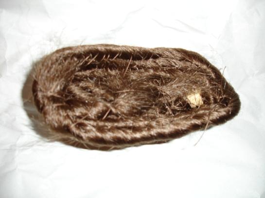 doyoudesigntoo wordpress com Fallera hair mono how to hair coil mono halfway done back