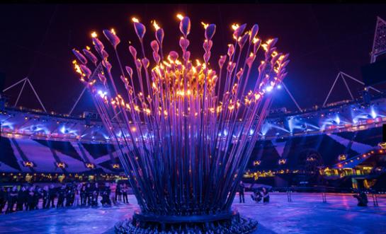 designcrushblog com London Olympics Torch Cauldron Opening Ceremony by Thomas Heatherwick 2