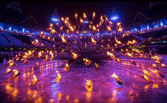 designcrushblog com London Olympics Torch Cauldron Opening Ceremony by Thomas Heatherwick 3