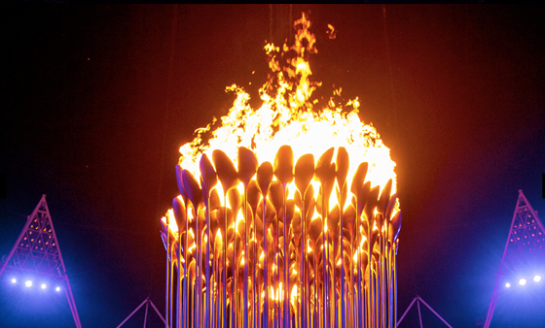 designcrushblog com London Olympics Torch Cauldron Opening Ceremony by Thomas Heatherwick
