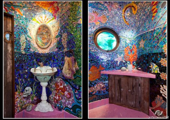 jainabee com Yellow Submarine Bathroom Gaudis Beach House From The Movie Brazil 3