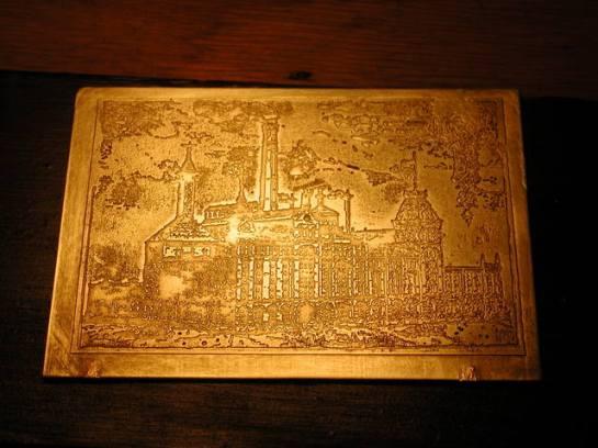How to etch brass