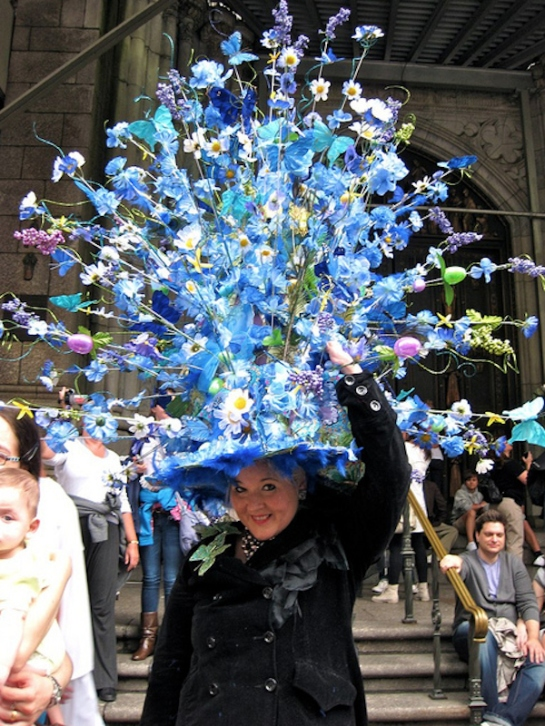 HAPPY EASTER in hats and bonnets wonderfulness Do You