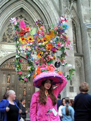 perpetualperfection com crazy huge may day Easter bonnet hat