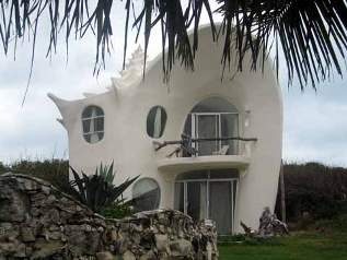 A shell house ferrocement mexico