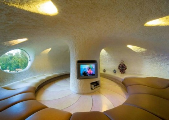 bookmarc. com. au Nautilus-House-by-Javier-Senosiain living room