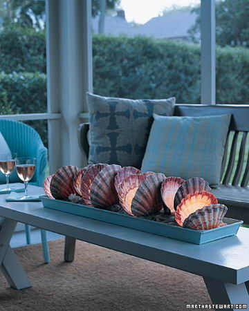 homedecorarcade com beach-style-decor-shell-decoration marthastewart decorating with shells