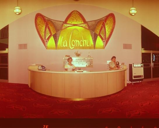 preservationnation org La Concha Motel lobby Las Vegas, Nevada