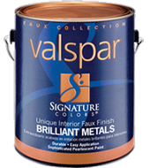 Valspar Brilliant Metals Paint
