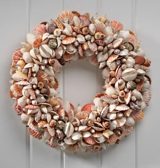 exposuresonline com nantucket shell wreath