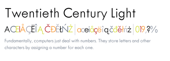 fonts com twentieth century light futura font related