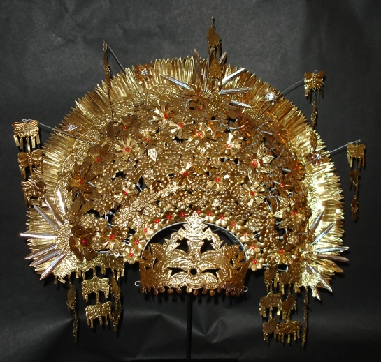 Balinese Sumatra Suntiang Wedding Crown