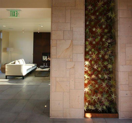 apartmenttherapy com tillandsia wall garden at Bardessono hotel 1