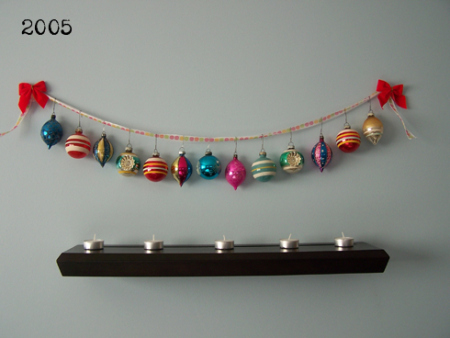mymcmlife com Wishing You A Shiny Brite Christmas garland