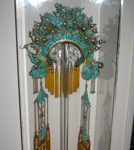 A Chinese Opera Kingfisher Headdress. From: http://www.pinterest.com/pin/346214290075895565/