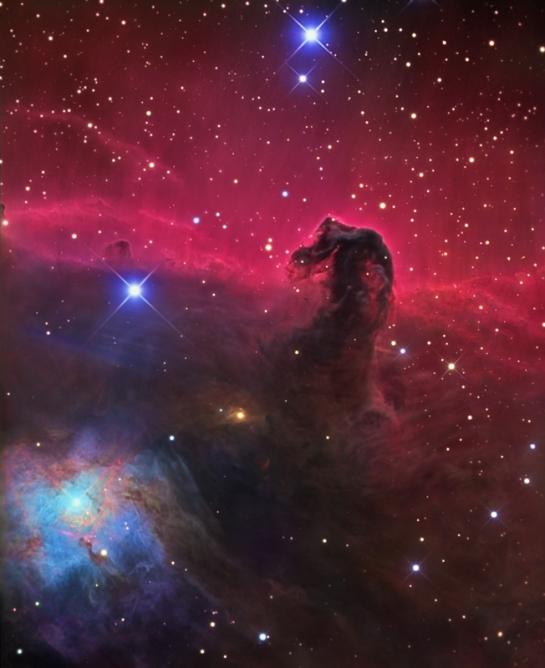 cosmotography com Horsehead nebula