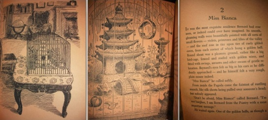 doyoudesigntoo wordpress com The Rescuers Miss Biancas Porcelain Pagoda Dollhouse Mouse House Garth Williams