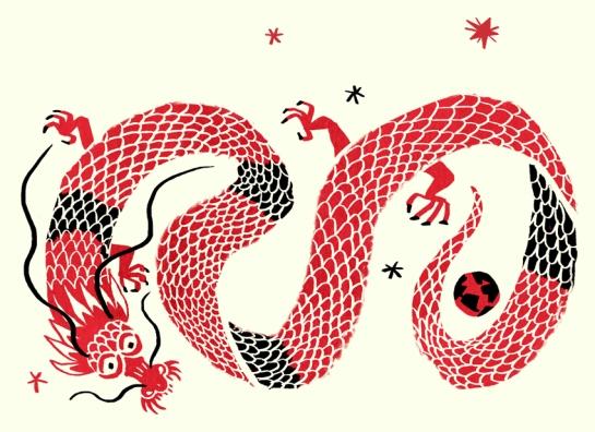 kellyocg com red chinese ragon
