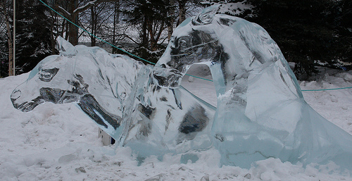 lindagrimes com horse-ice-sculpture