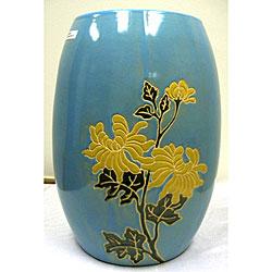 ovestock com floral ocean ceramic garden stool chinoiserie