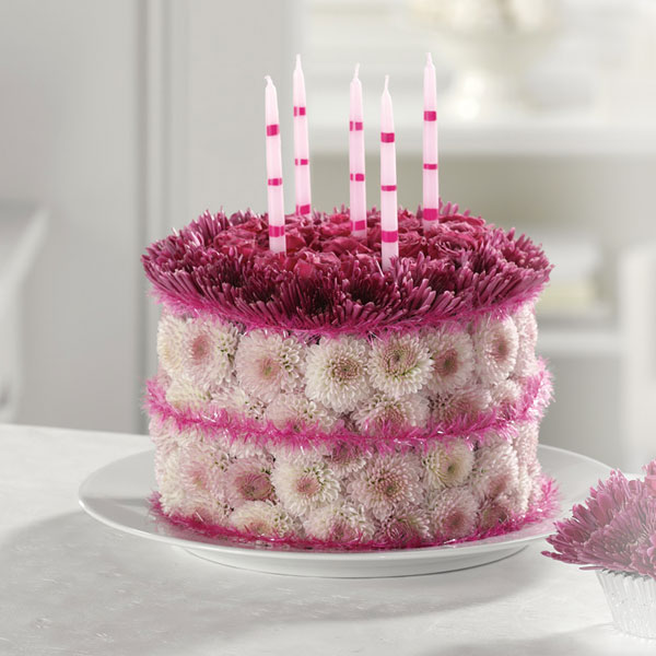 Birthday Flower Cake 1 800 Flowers Image Inspiration of Cake and