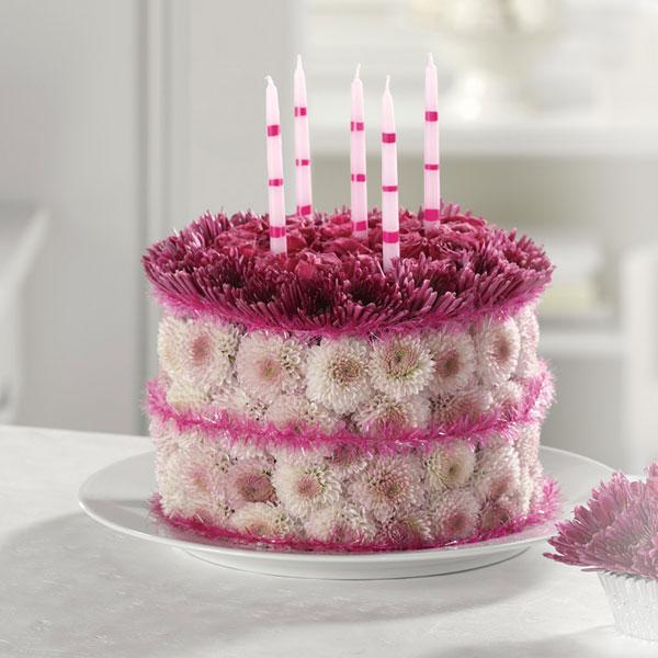 1800flowers Birthday Flower Cake