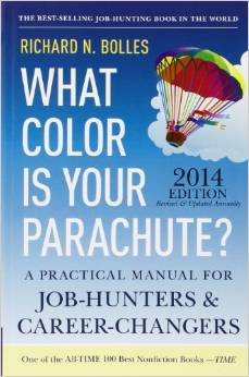 what color is your parachute Richard N. Bolles