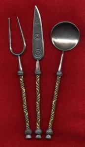 craftycelts com Byzantium silverware