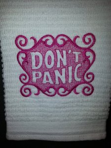 etsy remimartin dont panic towel
