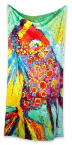 Leoma Lovegrove Fish towel for BeallsFlorida