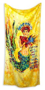 Leoma Lovegrove Mermaid crown rescue towel BeallsFlorida