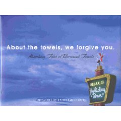 thoughtsofthatmom com About the Towels We Forgive You Book, Holiday Inn